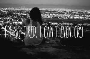 depressiontired