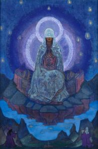 Wisdom Goddess Sophia Nicolas Roerich